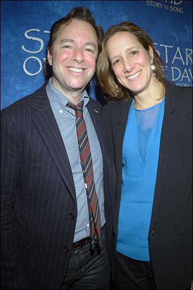 Gordon Greenberg and Abigail Pogrebin