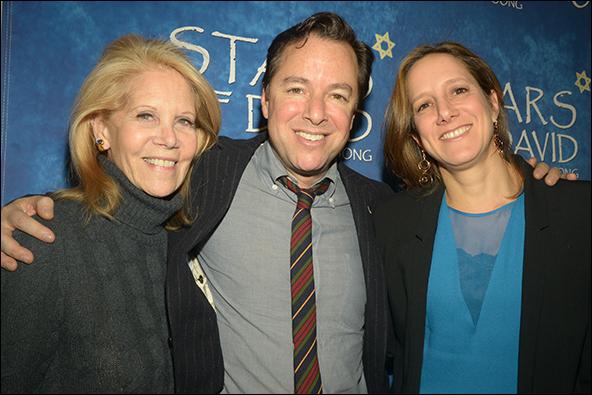 Daryl Roth, Gordon Greenberg and Abigail Pogrebin