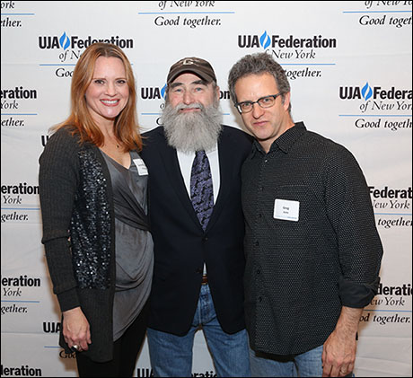 Jennifer Laura Thompson, Michael David and Greg Kotis
