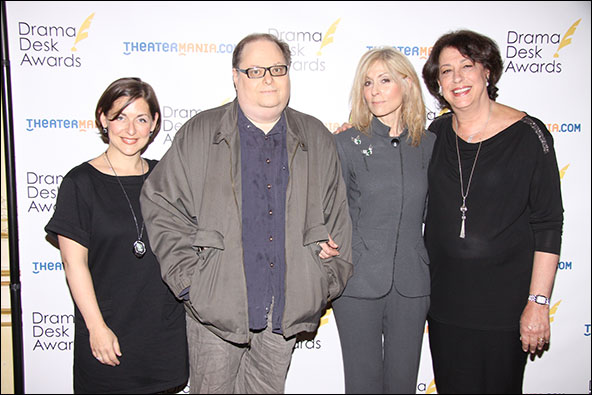Mandy Greenfield, Richard Greenberg, Judith Light and Lynne Meadow