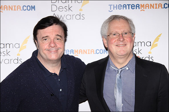 Nathan Lane and Glen Kelly