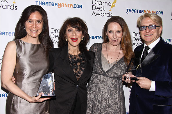 Diane Paulus, Andrea Martin, Gypsy Snider and Chet Walker