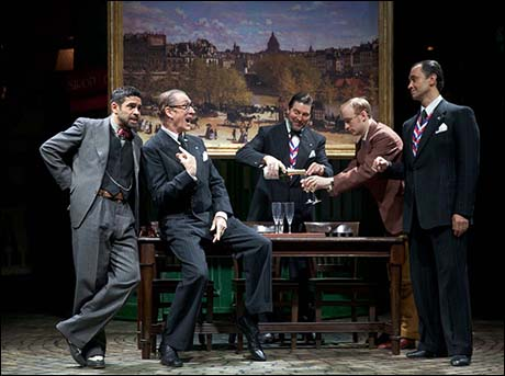 Anthony Barclay, Peter Land, Robert Meadmore, Stuart Matthew Price and Jack Rebaldi