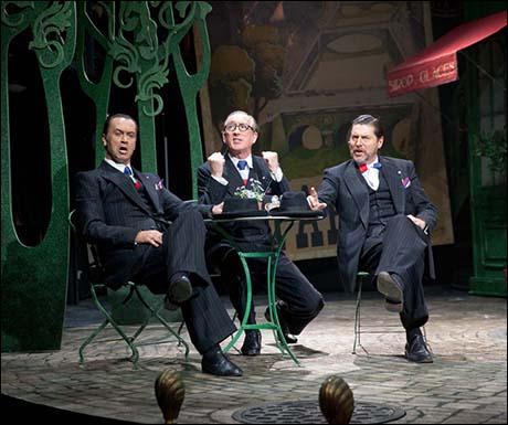 Jack Rebaldi, Peter Land and Robert Meadmore