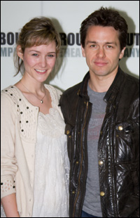 Jill Paice and Julian Ovenden