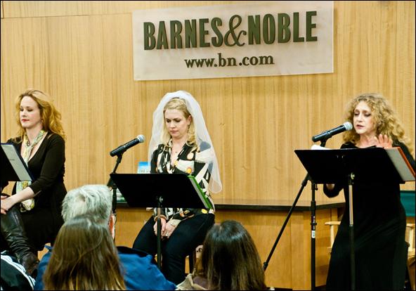 Katie Finneran, Melissa Joan Hart and Carol Kane