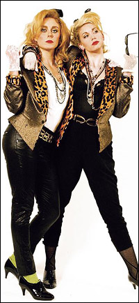 Kelly Price and Emma Williams in <i>Desperately Seeking Susan</i>.