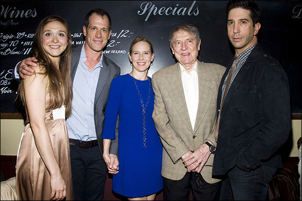 Sarah Sokolovic, Darren Pettie, Amy Ryan, John Cullum and David Schwimme