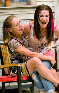 Laurie Metcalf and Kate Arrington in the Chicago premiere