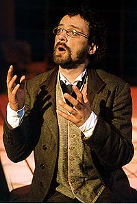 Artistic Director Preston Lane in Triad Stage's <i>A Dickens of a Christmas</i>