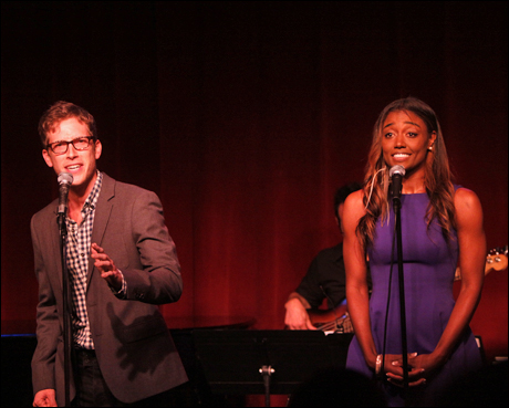Anderson Davis and Patina Miller