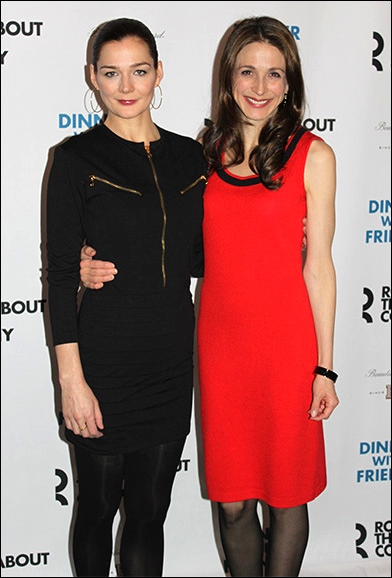 Heather Burns and Marin Hinkle