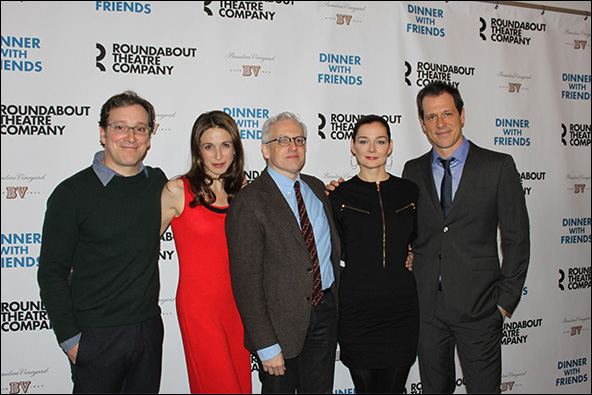 Jeremy Shamos, Marin Hinkle, Donald Margulies, Heather Burns and Darren Pettie