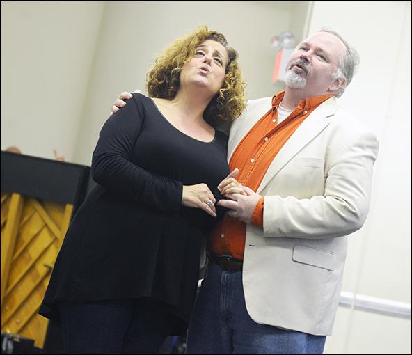 Mary Testa and Tom Riis Farrell