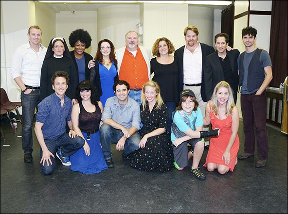 The cast of Disaster!