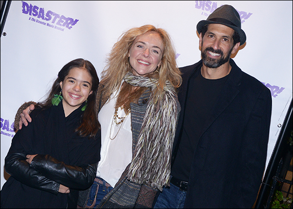 Rachel Bay Jones with Benim Foster and her daughter