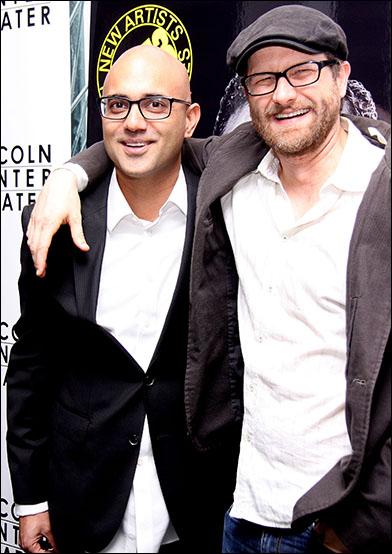 Ayad Akhtar and Erik Jensen