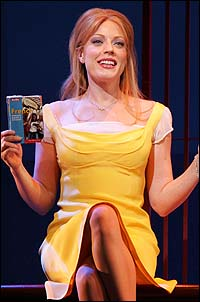 Tony Award nominee Sherie Rene Scott in <I>Dirty Rotten Scoundrels</I>