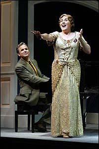 Judy Kaye and Donald Corren in <I>Souvenir</I>.