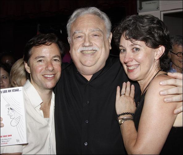 Gordon Greenberg, Ed Dixon and Donna Lynn Cooper Hilton