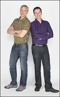 Rick Elice and Michael Patrick Walker