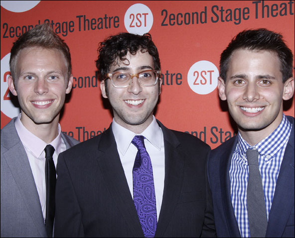Justin Paul, Peter Duchan and Benj Pasek