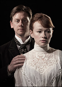 Fred Arsenault and Gretchen Hall of <i>A Doll's House</i>.