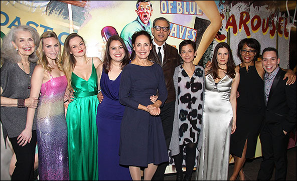 Mary Beth Peil, Aleque Reid, Emily Meade, Vanessa Aspillaga, Laurie Metcalf, Jeff Goldblum, Anna D. Shapiro, Mia Barron, Karen Pittman and Robin De Jesus