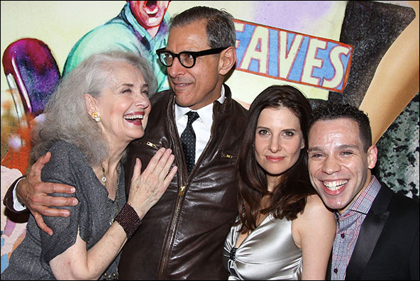 Mary Beth Peil, Jeff Goldblum, Mia Barron and Robin De Jesus