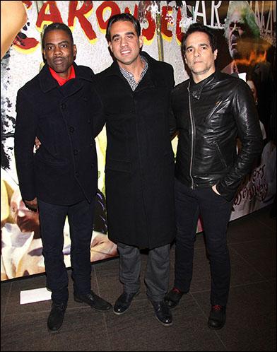 Chris Rock, Bobby Cannavale and Yul Vazquez