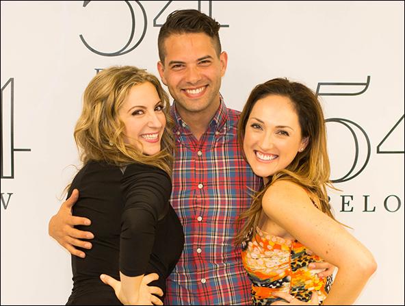 Donna Vivino, Alex Michaels and Tiffany Haas