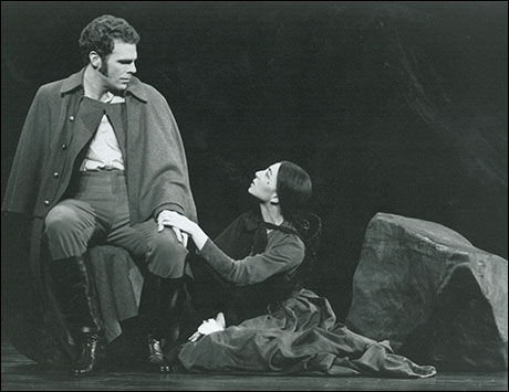 Jere Shea and Donna Murphy in Passion