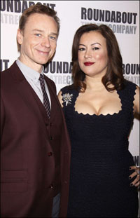 Ben Daniels and Jennifer Tilly