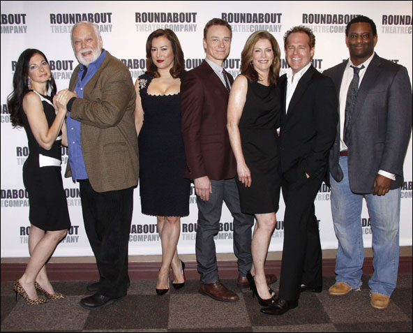 Spencer Kayden, John Tillinger, Jennifer Tilly, Ben Daniels, Patricia Kalember, Adam James and David Aaron Damane