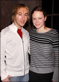 Michael Alden and Thora Birch