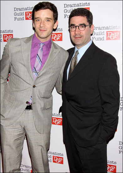 Michael Urie and Jonathan Tolins