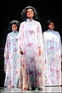 <I>Dreamgirls</I>' Adrienne Warren, Syesha Mercado and Moya Angela