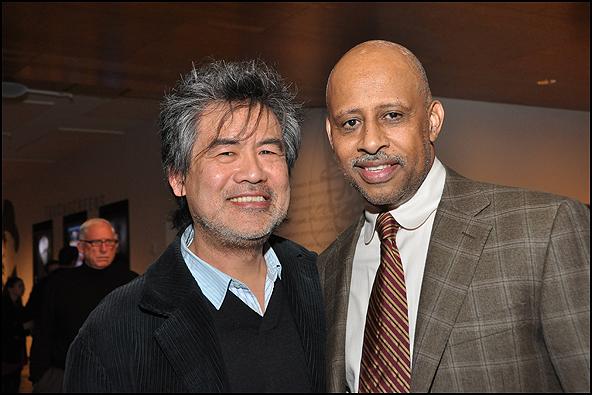 David Henry Hwang & Ruben Santiago-Hudson
