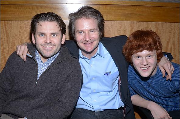 Robert Creighton, Peter Benson, Nicholas Barasch