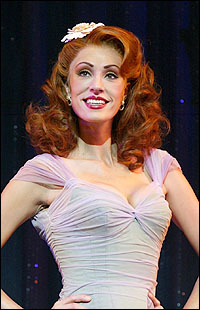 Sara Gettelfinger in <i>Dirty Rotten Scoundrels.</i>