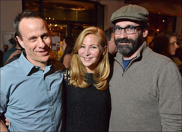 David Wilson Barnes, Jennifer Westfeldt and Jon Hamm