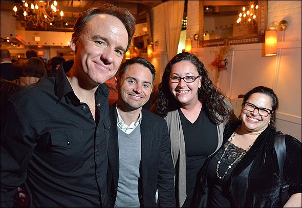 David Wilson Barnes, Brian Davidson, Karen Nahary, and Rebecca Frank