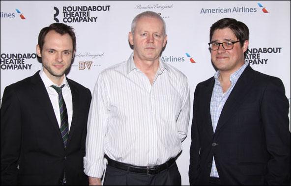 Christopher Denham, David Morse and Rich Sommer