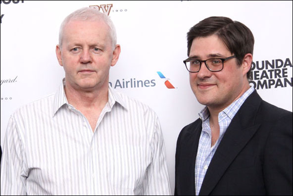 David Morse and Rich Sommer