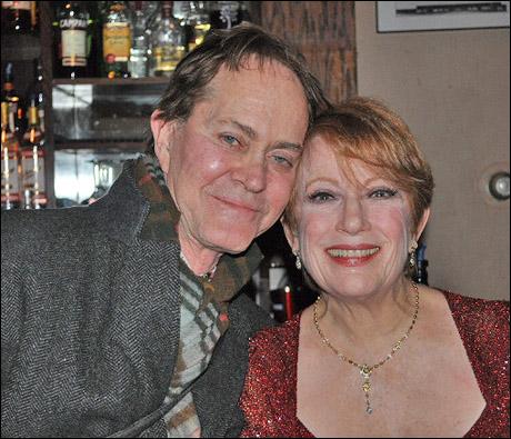 Steve Ross and Nancy Dussault