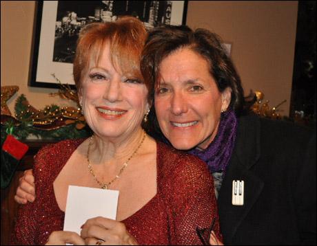 Nancy Dussault and songwriter Julie Goldl