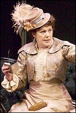 Lynn Redgrave in <I>The Importance of Being Earnest</I>.