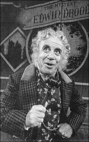 George Rose in The Mystery of Edwin Drood, 1985