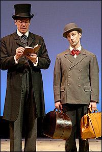 <I>Around the World in Eighty Days</I> stars Robert Krakovski and Kevin Isola