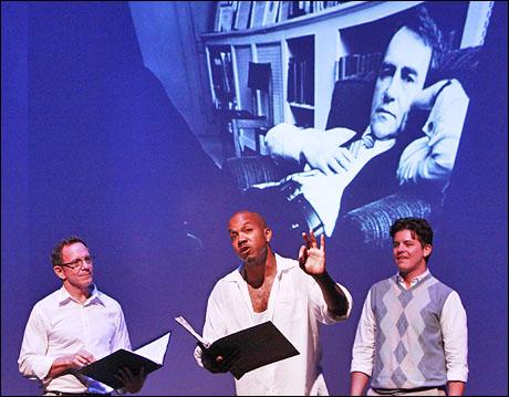 Michael Brian Dunn, Darius de Haas and Jason Forbach